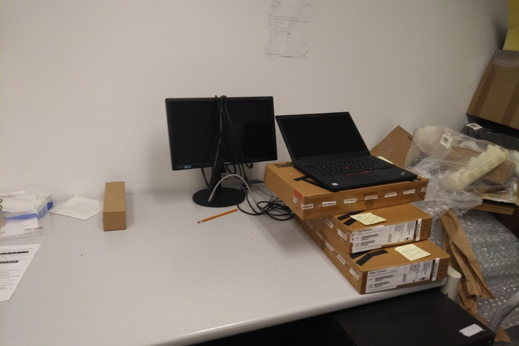 Our Computer Lab Before and After Photos